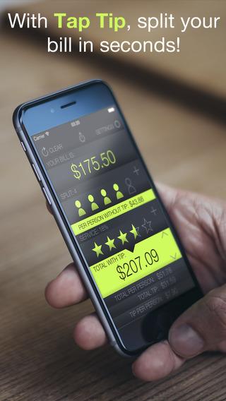 Tip Calculator Free ∙ Tap Tip for Social Living
