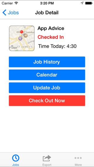OnSite Time Tracker Screenshots