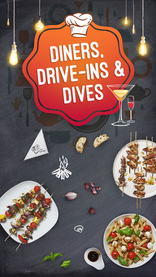 Great App for Diners Drive-ins and Dives Restaurants