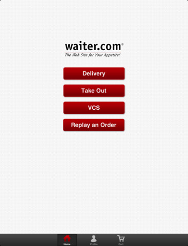 Waiter.com Food Delivery and Takeout screenshot