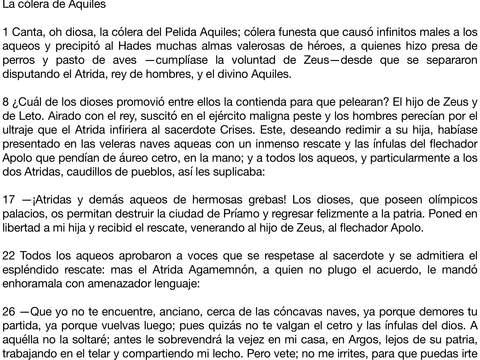 La Ilíada y la Odisea iPad Screenshot 1