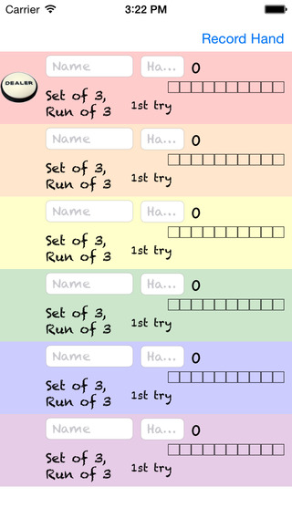 Phase10 Scorepad