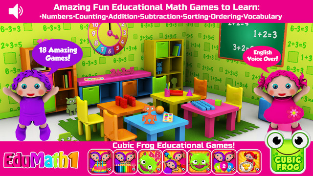 Preschool EduMath1- Free Learn Numbers and Counting for Toddlers and Preschoolers
