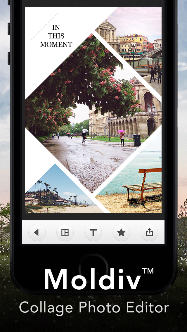 Moldiv – Collage Photo Editor screenshot 1