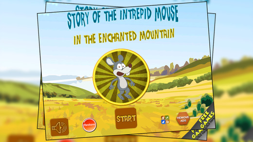 Story of the intrepid mouse in the enchanted mountain - Free