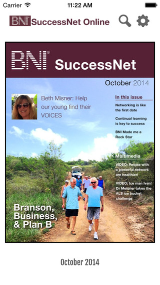 SuccessNet by BNI: Increase business locally and globally through professional word of mouth network