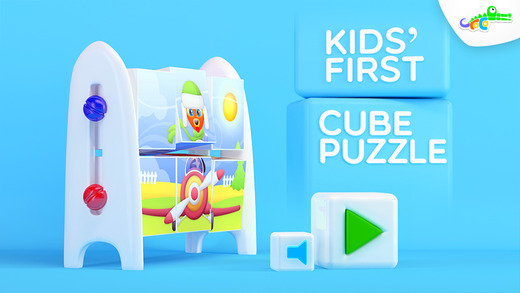 Kids' First Cube Puzzle Freemium - Parrot the Pirate Doctor Fox Detective Squirrel and Friends