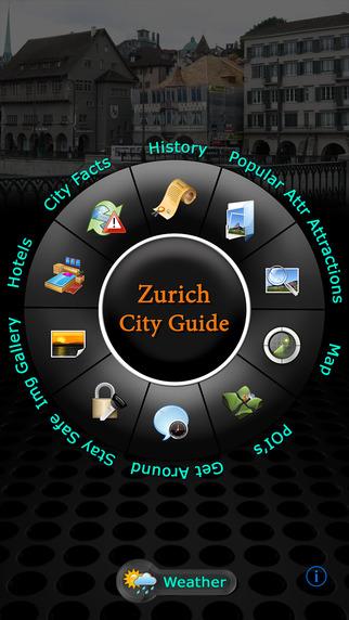Zurich Offline Map Travel Guide