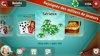 Screenshot 2 Belote.com — Coinche & Belote
