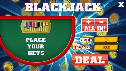 ALL VEGAS RICH GAMBLING BLACKJACK SLOT