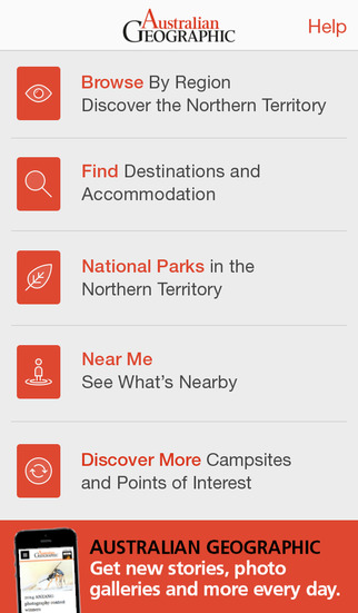 Australian Geographic - Discover the Northern Territory