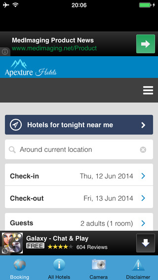 Apexture Hotels Booking 80 off