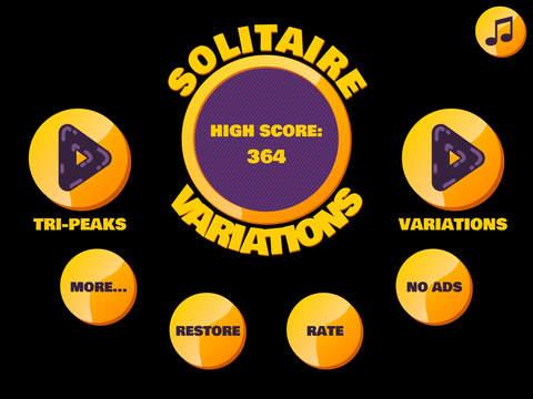 Tri Peaks Solitaire Variations: Golden Pyramids