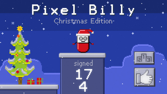 Pixel Billy - Christmas Edition
