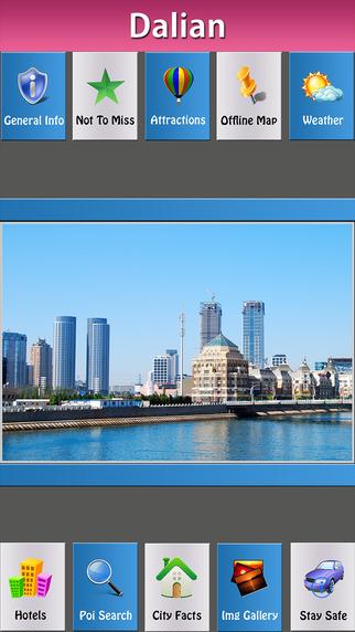 Dalian Offline Map Travel Guide