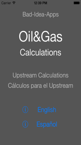 Calculations Oil Gas
