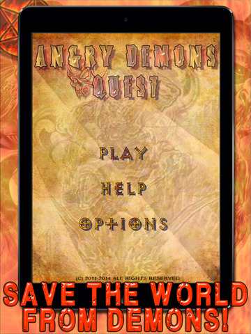 Angry Demons Quest Free HD - A Fun Horror Puzzle Game