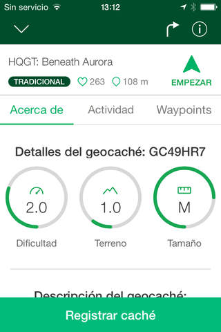 Geocaching® - Treasure Hunt screenshot 2