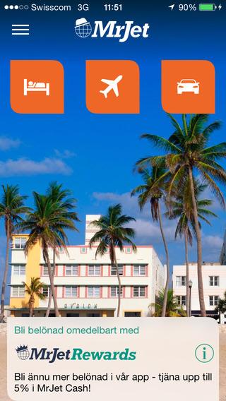 MrJet Resor: Hotell Flyg Hyrbilar
