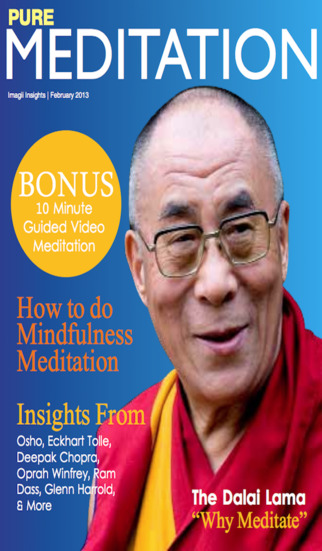 Pure Meditation Magazine - Consciousness meditator with Buddhist Shambhala Tibetan and Mindfulness t