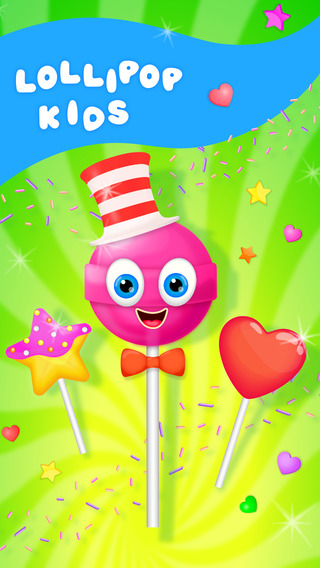 Lollipop Kids - Candy Cooking Games
