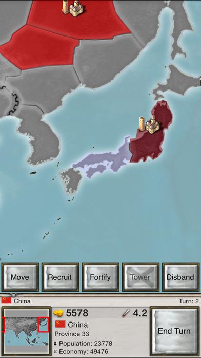 Age of Conquest: Asia iPhone Screenshot 2