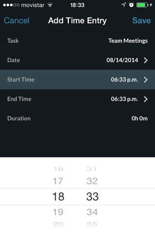 TrackingTime PRO screenshot 4