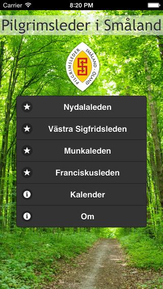 Pilgrimsleder i Småland