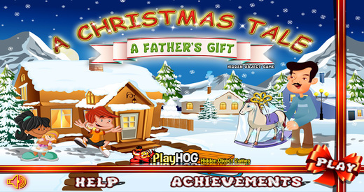 Christmas Tales - A Fathers Gift - Free Hidden Object Games