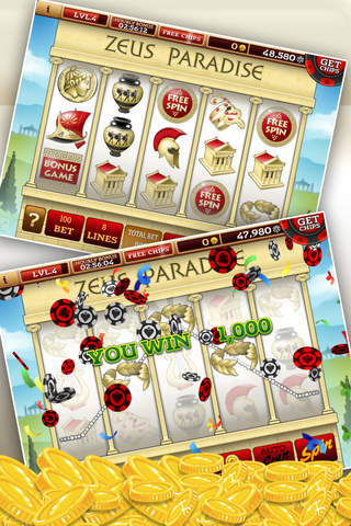 Slots Spotlight! -by The 29 Terribles- Real casino action on your mobile! screenshot 4