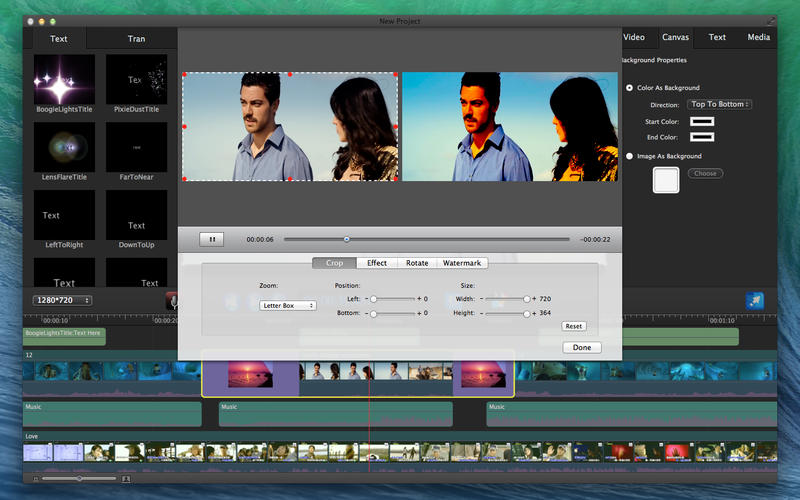 Movie Edit Pro - Merge Video Image Screenshot - 4