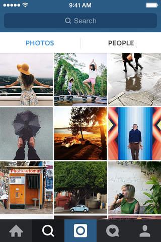 Instagram app screenshot