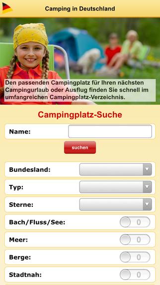 Camping-in-Deutschland