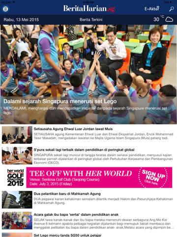 Berita Harian.sg for iPad