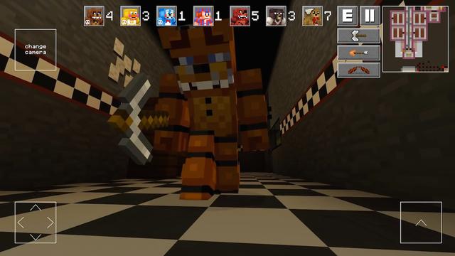 Horror 2 - Survival Block Shooter MiniGame