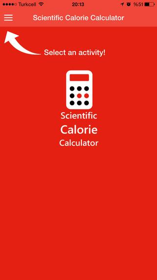 Scientific Calorie Calculator