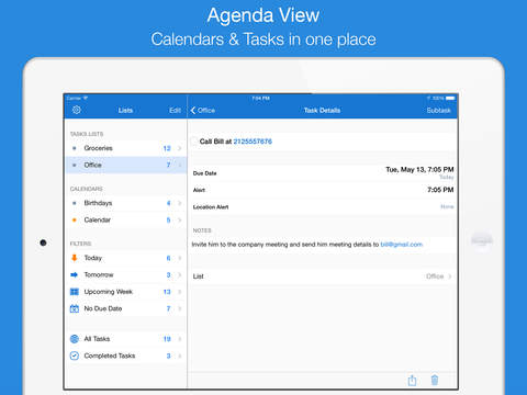 gTasks Pro - Tasks Manager for Google Tasks, Todo list & Reminders