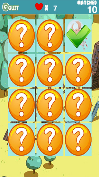 Match Game Card Puzzle Games for Olivia