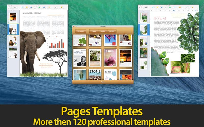 iTemplates - iWork 系列模板[OS X]丨反斗限免