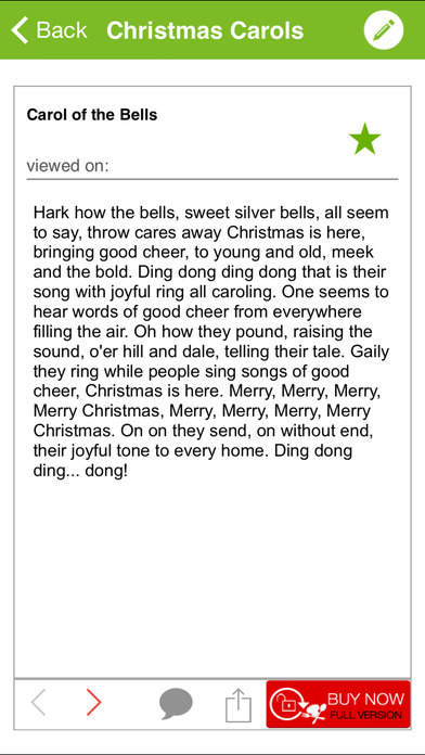 A Collection of Christmas Carols iPhone Screenshot 5