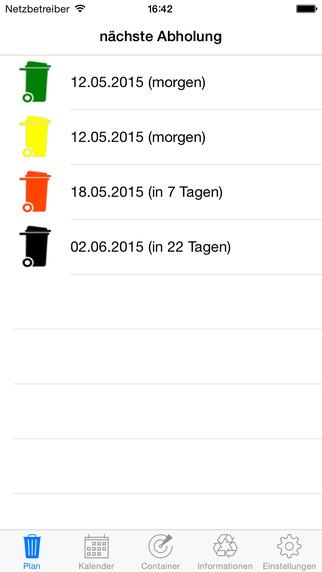 Abfall-App Stadt Geseke