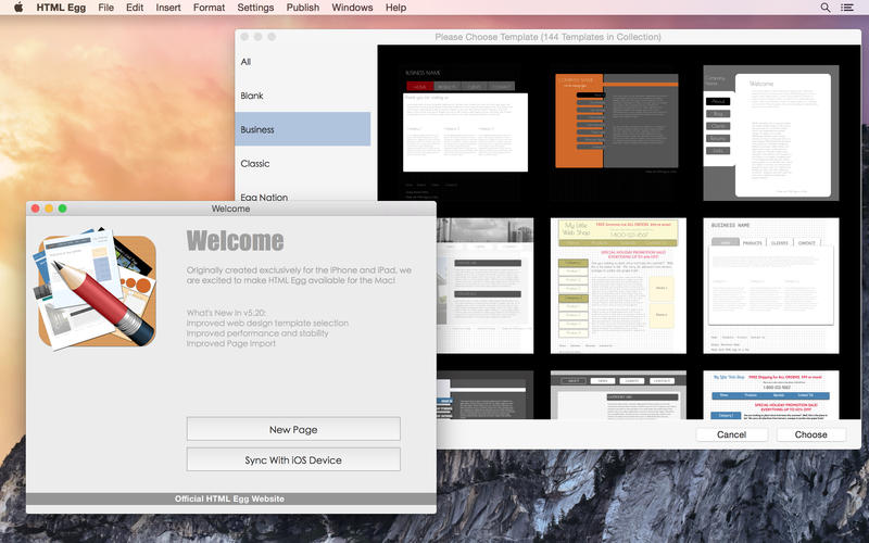 HTML Egg Classic Edition Screenshot - 1