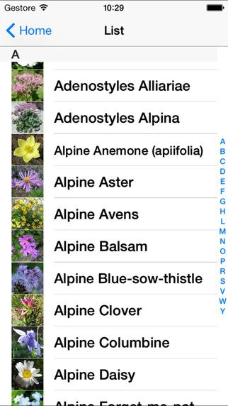 Fleurs de Montagne iPhone Screenshot 3