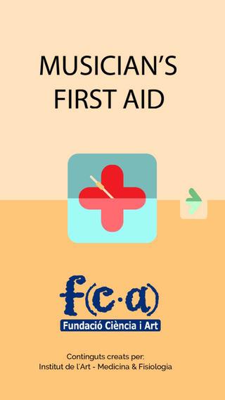 Musician's First Aid - Català iPhone