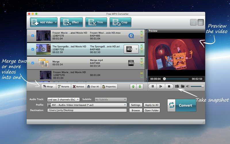 Free MP4 Converter Screenshot - 5