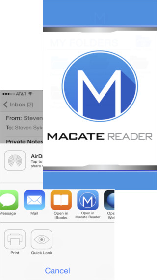 Macate Reader