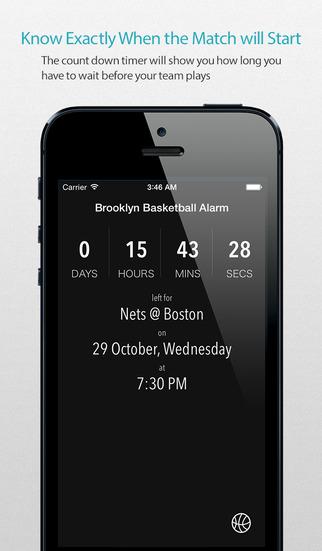 Brooklyn Basketball Alarm