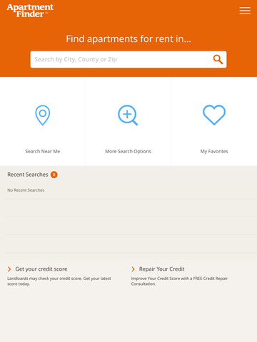 Apartment Finder - Search Apartments for Rent Tablet
