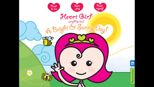 Heart Girl: A Bright Sunny Day