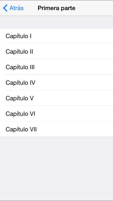 Crimen y castigo iPhone Screenshot 2